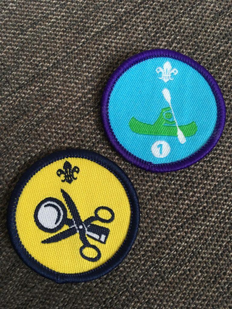 Beaver badges