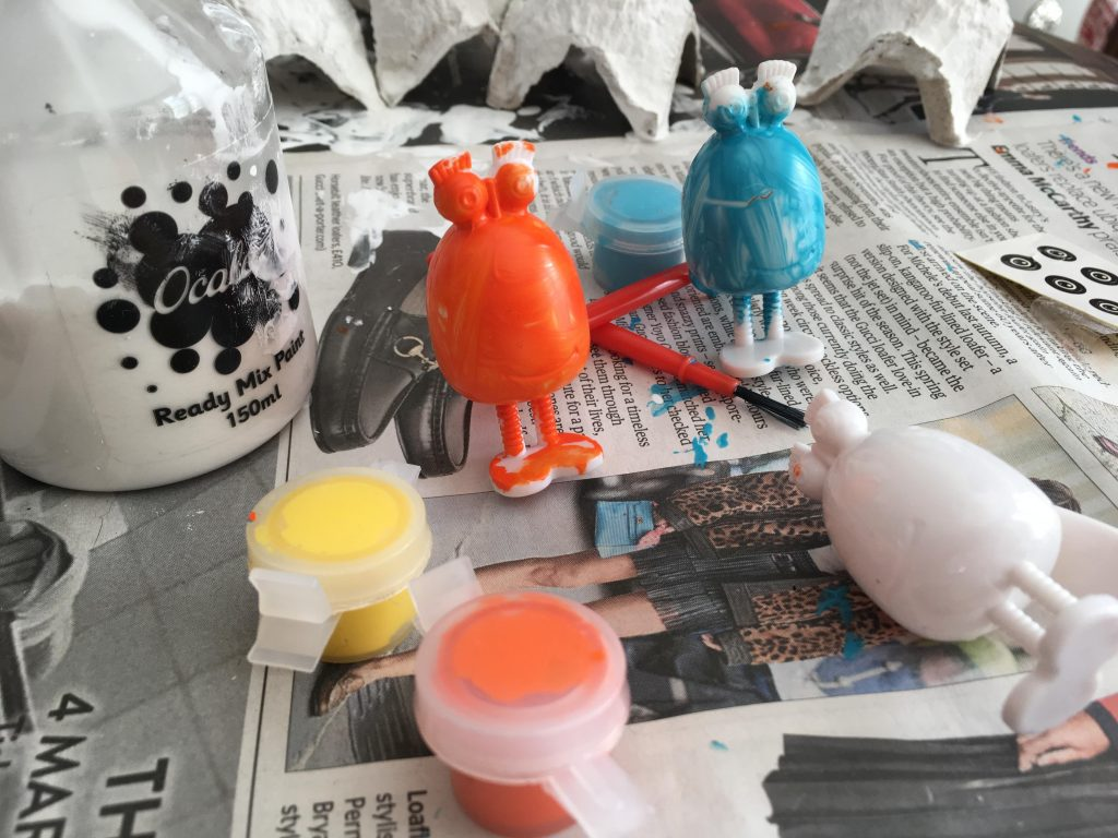 Crafting the Froglets