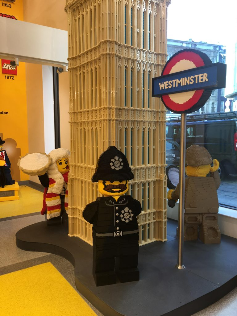 Lego Store, Leicester Square