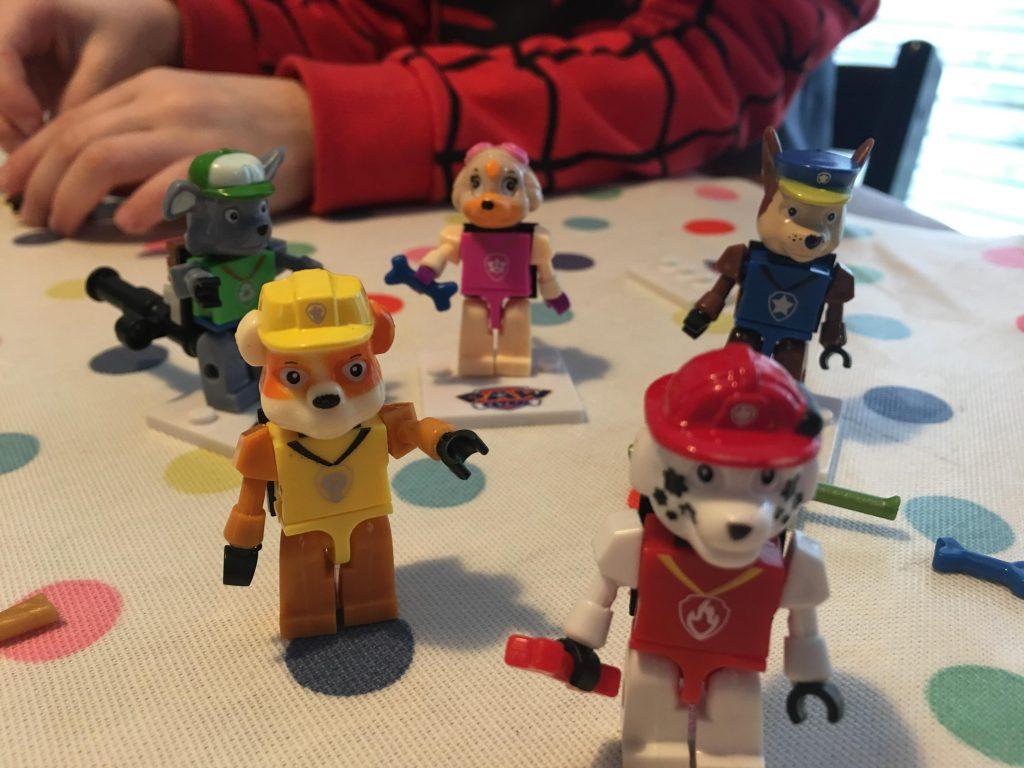 Lego Paw Patrol figures