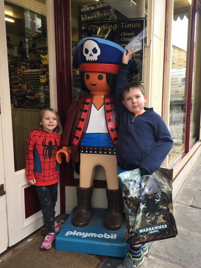 giant Playmobil figure