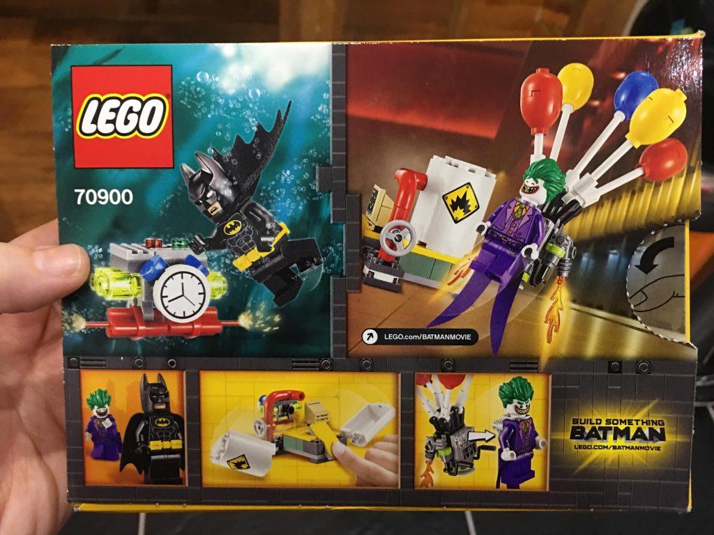 The Joker Balloon Escape Lego set