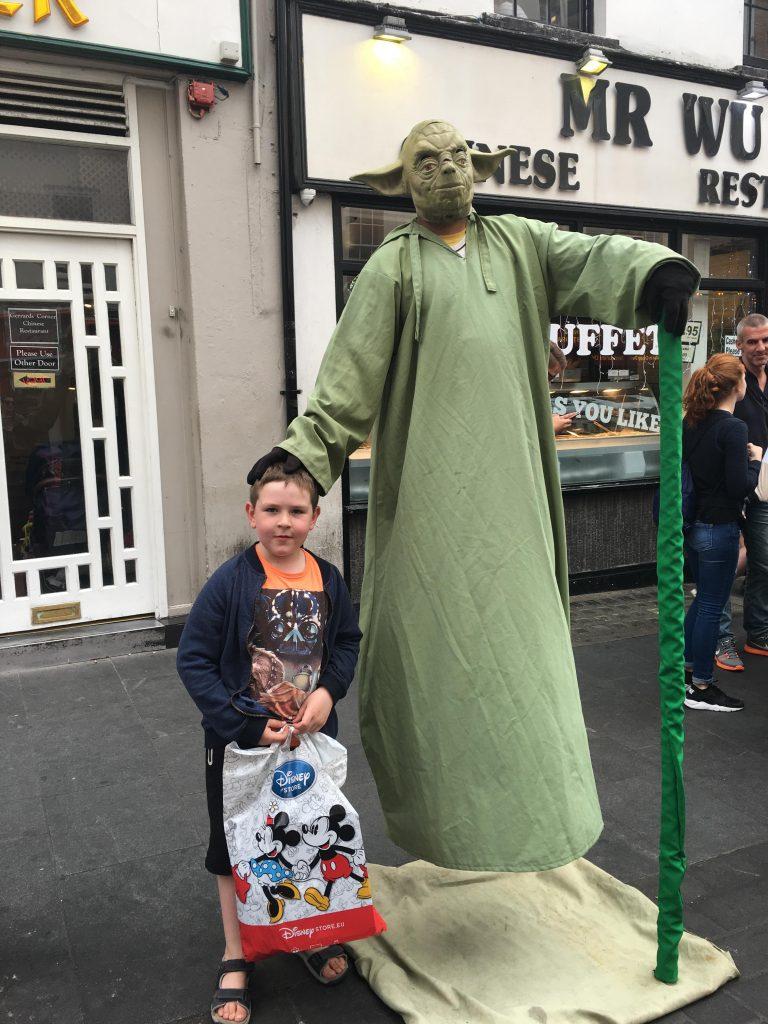 meeting Yoda